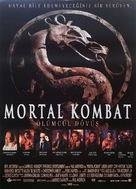 Mortal Kombat - Turkish Movie Poster (xs thumbnail)