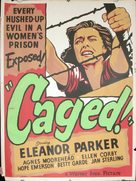 Caged - Movie Poster (xs thumbnail)