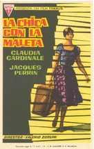 La ragazza con la valigia - Spanish Movie Poster (xs thumbnail)