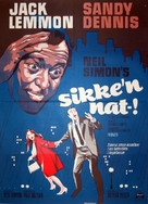 The Out-of-Towners - Danish Movie Poster (xs thumbnail)