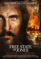 Free State of Jones - Dutch Movie Poster (xs thumbnail)