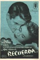 Spellbound - Spanish Movie Poster (xs thumbnail)