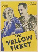 The Yellow Ticket - poster (xs thumbnail)