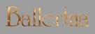 Ballerina - French Logo (xs thumbnail)