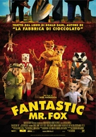 Fantastic Mr. Fox - Italian Movie Poster (xs thumbnail)