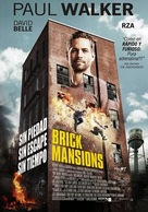 Brick Mansions - Argentinian Movie Poster (xs thumbnail)