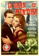 Gran mentira, La - Spanish Movie Poster (xs thumbnail)