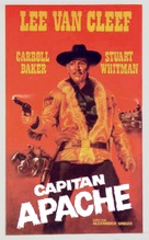 Captain Apache - Spanish Movie Poster (xs thumbnail)