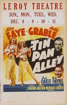 Tin Pan Alley - poster (xs thumbnail)