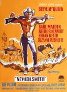 Nevada Smith - Danish Movie Poster (xs thumbnail)