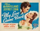 My Love Came Back - Movie Poster (xs thumbnail)