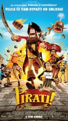 The Pirates! Band of Misfits - Serbian Movie Poster (xs thumbnail)