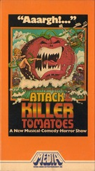 Attack of the Killer Tomatoes! - VHS movie cover (xs thumbnail)