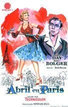 April in Paris - Spanish Movie Poster (xs thumbnail)