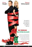 Four Christmases - Romanian Movie Poster (xs thumbnail)