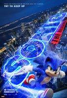 Sonic the Hedgehog - Australian Movie Poster (xs thumbnail)