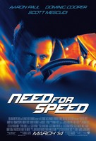 Need for Speed - Theatrical movie poster (xs thumbnail)