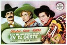 Go West - Spanish Movie Poster (xs thumbnail)