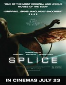 Splice - British Movie Poster (xs thumbnail)