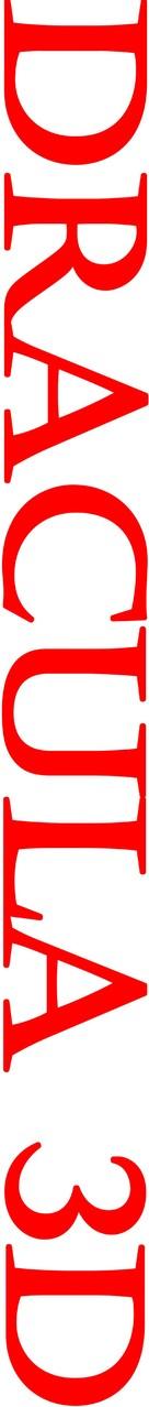 Dracula 3D - Logo (xs thumbnail)