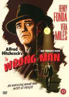 The Wrong Man - Danish DVD cover (xs thumbnail)