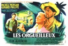 Orgueilleux, Les - French Movie Poster (xs thumbnail)