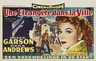 Strange Lady in Town - Belgian Movie Poster (xs thumbnail)
