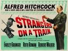 Strangers on a Train - British Movie Poster (xs thumbnail)