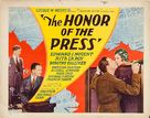 The Honor of the Press - Movie Poster (xs thumbnail)