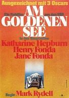 On Golden Pond - German Movie Poster (xs thumbnail)