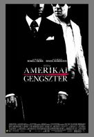 American Gangster - Hungarian Movie Poster (xs thumbnail)