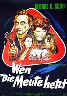 The Last Run - German Movie Poster (xs thumbnail)