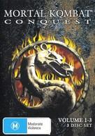 """Mortal Kombat: Conquest"" - Australian DVD movie cover (xs thumbnail)"