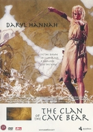 The Clan of the Cave Bear - Danish DVD cover (xs thumbnail)