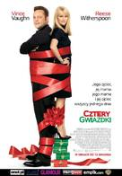 Four Christmases - Polish Movie Poster (xs thumbnail)