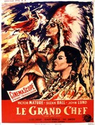 Chief Crazy Horse - French Movie Poster (xs thumbnail)