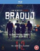 """""""Braquo"""" - British Blu-Ray movie cover (xs thumbnail)"""