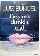 Cet obscur objet du désir - Swedish Movie Poster (xs thumbnail)