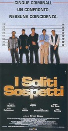 The Usual Suspects - Italian Movie Poster (xs thumbnail)