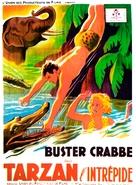 Tarzan the Fearless - French Movie Poster (xs thumbnail)