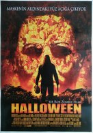 Halloween - Turkish Movie Poster (xs thumbnail)
