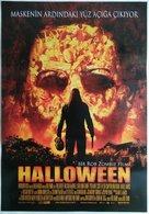 Halloween - Turkish Movie Poster (xs thumbnail)
