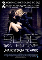 Blue Valentine - Argentinian Movie Poster (xs thumbnail)