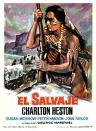 The Savage - Spanish Movie Poster (xs thumbnail)