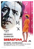 Sebastian - Spanish Movie Poster (xs thumbnail)