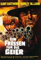 Two Mules for Sister Sara - German Movie Poster (xs thumbnail)