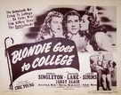 Blondie Goes to College - Movie Poster (xs thumbnail)