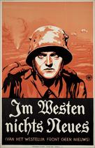 All Quiet on the Western Front - Dutch Movie Poster (xs thumbnail)