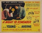 A Night to Remember - Movie Poster (xs thumbnail)