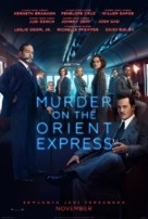 Murder on the Orient Express - Indonesian Movie Poster (xs thumbnail)
